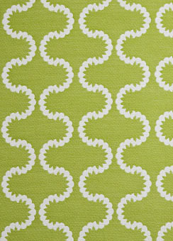 Doug and Gene Meyer designed outdoor fabric called Drop In for Link Outdoor.