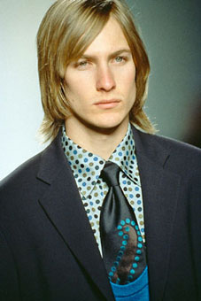 Gene Meyer: Fall 2000 menswear show, New York City