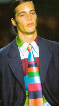 Gene Meyer: Spring 1998 menswear show, New York City
