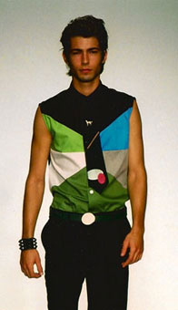 Gene Meyer: Spring 2001 menswear show, New York City