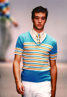 Gene Meyer: Spring 1996 menswear show, New York City