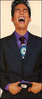 Gene Meyer: Printed silk tie. Details magazine, Spring 1995