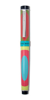 Gene Meyer: Ball point pen: 8-XO Designed 2000
