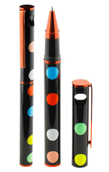 Gene Meyer: Limited edition Pen: COLOR DOTS Designed 2007