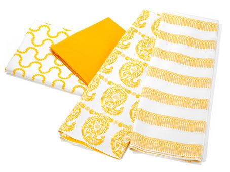 Assortment of Doug & Gene Meyer designed outdoor fabric for Link Outdoor.