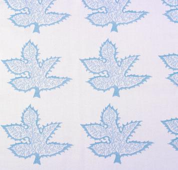 Doug & Gene Meyer designed fabric called Maple for Link Outdoor.