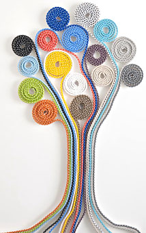 Dashing cord designed by Doug and Gene Meyer for Link Outdoor.