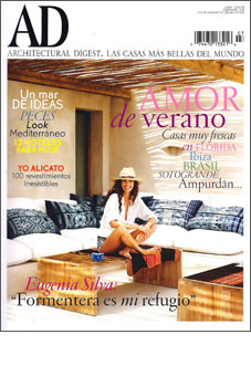 Architectural Digest Spain  July/August 2010  10 page spread on designer Doug Meyer's  Miami Shores house.  Produced by - Enric Pastor  Photography by – Arturo Zavala Haag
