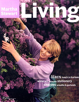 Gene Meyer sweater Worn by Martha Stewart Martha Stewart Living (cover) Spring 1996