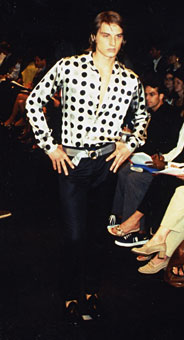 Gene Meyer Spring 1996 fashion show New York City