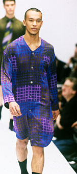 Gene Meyer Fall 1996 fashion show New York City