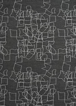 Doug and Gene Meyer designed outdoor fabric called Doodle for Link Outdoor.
