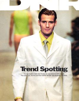 Gene Meyer Menswear Cover DNR Spring 1997