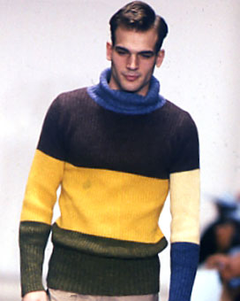 Gene Meyer Fall 1997 fashion show New York City