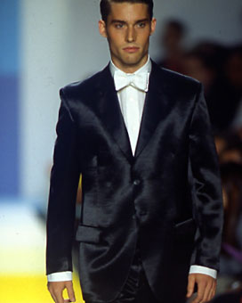 Gene Meyer Spring 1998 fashion show New York City