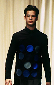 Gene Meyer Fall 1998 fashion show New York City