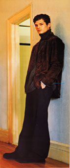 Gene Meyer menswear ad campaign Photographer – Stewart Shining Stylist Josh Patner Fall 1998