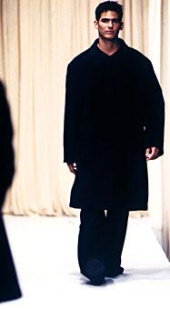 Gene Meyer Fall 1998 fashion show New York City