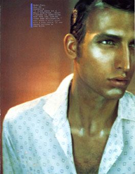 Gene Meyer menswear Sportswear International Magazine Spring 1999