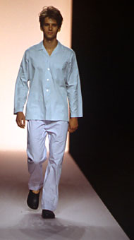 Gene Meyer Spring 1999 fashion show New York City