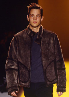 Gene Meyer  Fall 1999 fashion show New York City