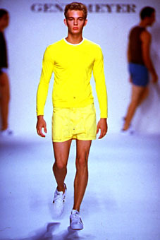 Gene Meyer  Spring 2000 fashion show New York City
