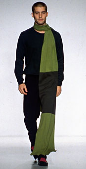 Gene Meyer  Fall 2000 fashion show New York City