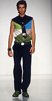 Gene Meyer  Spring 2001 fashion show New York City