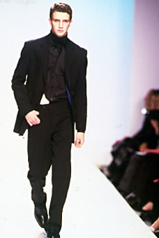 Gene Meyer  Fall 2001 fashion show New York City