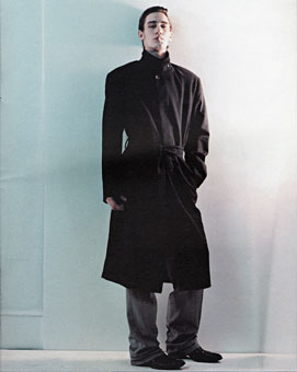 Gene Meyer ad campaign Fall 2001  Photographer – Jan Willem Dikkers Stylist – John Vertin