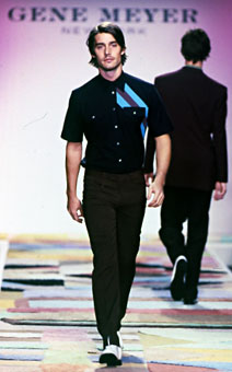 Gene Meyer  Spring 2002 fashion show New York