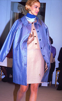 Gene Meyer Womens Collection Modeled by Dianne de Witt Spring 1990