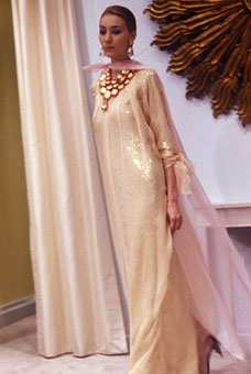 Gene Meyer Womens Collection Modeled by Mona Spring 1990
