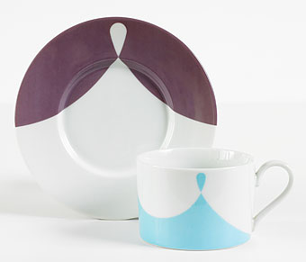 Gene Meyer tabletop CASBAH cup and saucer