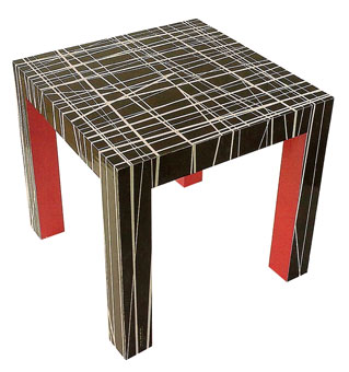 Doug and Gene Meyer  Jungle Road Table