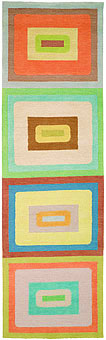 Doug and Gene Meyer rugs Beachnik Hand knotted