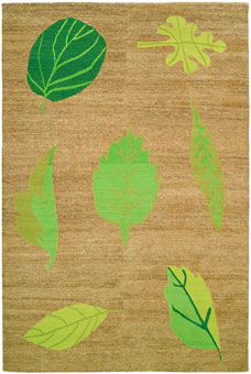 Doug and Gene Meyer rugs Tiki Garden Hand knotted