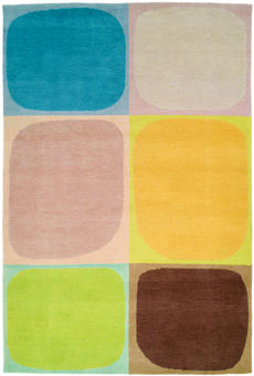 Doug and Gene Meyer rugs Tiki Pop Hand knotted