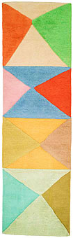 Doug and Gene Meyer rugs Try-Angular Too Hand knotted
