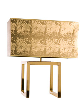 Doug and Gene Meyer  Pavillion Lamp Polished brass