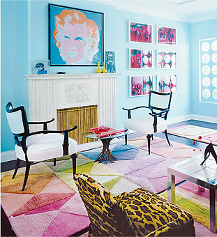 Doug and Gene Meyer rugs Try-Angular Featured in the MIAMI HERALD – HOME & DESIGN Magazine March 2003