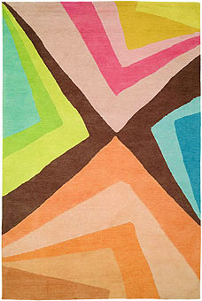 Doug and Gene Meyer rugs Volcano Island Hand knotted