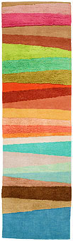 Doug and Gene Meyer rugs Scandinavian Stripes Too Hand knotted