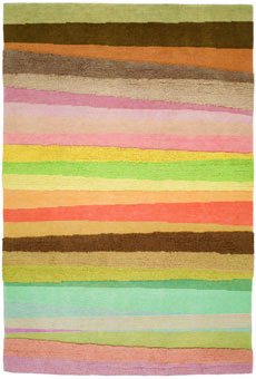 Doug and Gene Meyer rugs Scandinavian Stripe Hand knotted