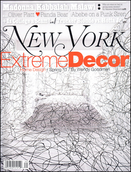 New York Magazine  May 9, 2011  Interior collaboration by Doug Meyer and Sylvia Heisel