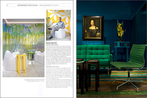 AD France Collector  Special Issue No. 4  Their selection of the Top Interior  Designers of 2011  Doug Meyer