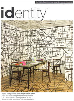 Identity Magazine September 2011 Cover of Doug Meyer interior