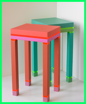 Doug and Gene Meyer small side tables from our new home collection