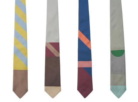 Gene Meyer Woven Silk Ties