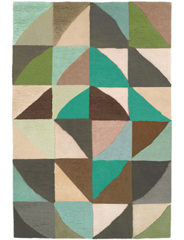 Doug and Gene Meyer Rug Helsinki Winter Hand knotted